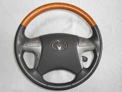 Оригинальный руль с косточкой под светлое дерево для Toyota Camry 40