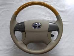 Оригинальный руль под дерево Toyota