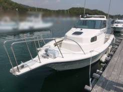 Sunaga BLUE Shark 260HT стационар. Volvo Penta AD31 135лс.