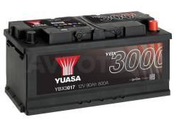 Аккумулятор YBX 3017 90 a/ч 800a (353х175х175)