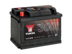 Аккумулятор YBX 3078 60 a/ч 550a (243х175х190)