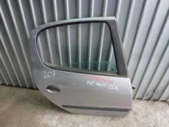 Дверь задняя правая Peugeot 206