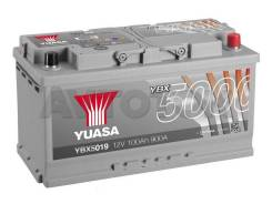 Аккумулятор YBX 5019 100 a/ч 900a (353x175x190)