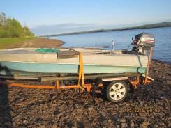 Продам лодку Обь-М с водометным двигателем Ямаха 40