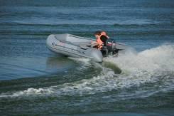 Надувная лодка Касатка-335 + Hidea HD9,9FHS (15) +Подарки