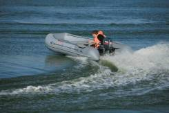 Надувная лодка Касатка-365 + Hidea HD 18 FHS (20) +Подарки
