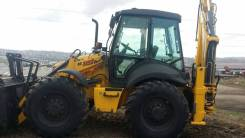 New Holland B115B. Экскаватор погрузчик , 4 500 куб. см.