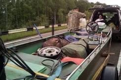 Tracker. 2016 год, длина 5,00м., двигатель подвесной, 40,00л.с., бензин