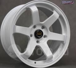 NEW! Комплект дисков Volk Racing TE37SL R17 8j ET35 5*114.3 (D120)