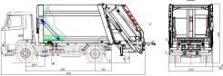 Рарз МК-3445-03. Продам мусоровоз МАЗ задняя загрузка, 11 785куб. см.