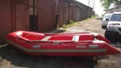 Продам надувную лодку BRIG длина 4,20м -35т. р.