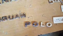 Эмблема багажника надпись vw polo sedan в наличии оригинал б. у
