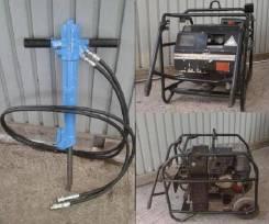 Гидростанция , отбойный молоток