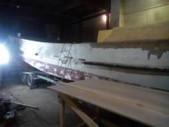 Продам корпус шхуны Yanmar длина 11м