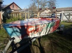 Лодка Прогресс4+ ямаха40+прицеп.