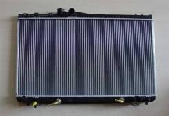 Радиатор охлаждения двигателя. Toyota Mark II, JZX90, JZX90E, JZX91, JZX91E, JZX93 Toyota Cresta, JZX90, JZX91, JZX93 Toyota Chaser, JZX90, JZX91, JZX...