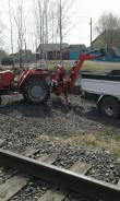 Эксковаторная установка на Мини-трактор shibaura sd