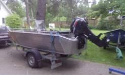 Катер для рыбалки(новый) + мотор Suzuki DF 50