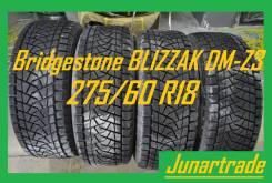 Bridgestone Blizzak DM-Z3. зимние, без шипов, 2002 год, б/у, износ 20%