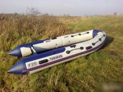 Продам лодку ПВХ Yamaran F-370 (новые пол и ходовой тент в подарок)