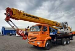 Ивановец КС-45717К-1Р. Автокран 25 тонн на базе Камаз 65115, 6 700куб. см., 31,00м.