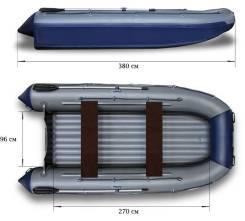 Лодка Флагман 380 K в г. Барнаул по супер цене!