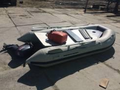 Продам лодку Aquasparks с мотором Yamaha 15