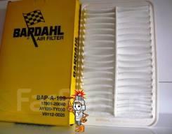 Воздушный фильтр Bardahl=Toyota 17801-20040 с уплотнением (A-199)