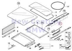 Механизм складывания крыши. BMW X5, E70 M57D30TU2