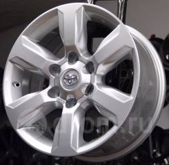Новые диски R17 на Toyota Land Cruiser Prado 120 150