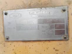 Крановая установка meiller (Германия) г/п 3т