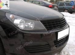Реснички на фары для Opel Astra H (Опель Астра Н)