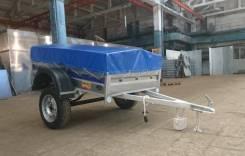 Прицеп грузовой 7135 «Цинк-Мастер» 1.7 с низким тентом (210 мм)