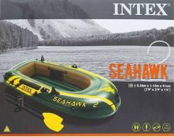 Лодка надувная Intex Seahawk 2 - Доставка бесплатно
