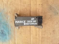 Сопротивление мотора отопителя Toyota Mark2 JZX-90.