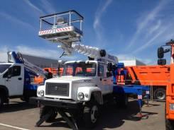 Випо-24. Автогидроподъемник ВИПО-24-01 на базе ГАЗ-33086 ( 2-х рядная кабина), 5 000куб. см., 24,00м.