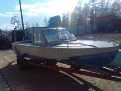 Продается лодка Амур с двигателем Ямаха 85