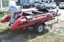 Лодка пвх yachtmarin с мотором honda 15