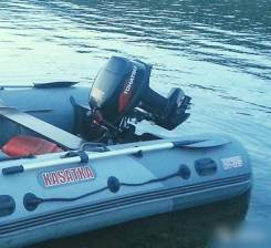 Лодка Касатка 365. Мотор Tohatsu M18
