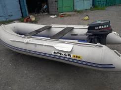 Продам лодку Solar 380 2017г. и мотор Yamaha 9.9 2000г. в Находке