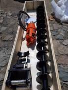 Гидробур, Ямобур (буровой редуктор, гидровращатель, буровая установка)