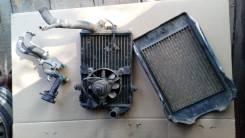 Радиатор с решёткой Kawasaki VN Vulcan 400