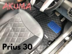 """3D Коврики Эко-кожа Toyota Prius 30 и на """"другие авто"""""""