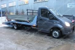 ГАЗ ГАЗель Next. Автоэвакуатор на шасси ГАЗель Некст/А21R23/А21R22 ломаная платформа, 2 690куб. см., 4x2