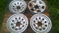 Оригинальные штампованные диски Nissan Terrano Поштучно
