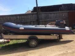 Продам лодку с мотором или обменяю на авто
