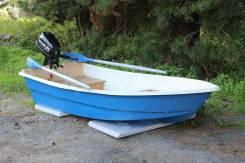 Моторно-гребная стеклопластиковая лодка ВИЗА Легант-280