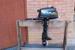 Лодочный мотор Мarlin MP 5 л. с. 2-х тактн в Томске