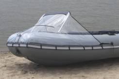 Носовой тент для лодки ПВХ прозрачный
