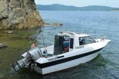 Продам корпус катера Tohatsu Trigger 23 с мотором Suzuki 140.